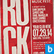 Rock Indie Flyer - GraphicRiver Item for Sale