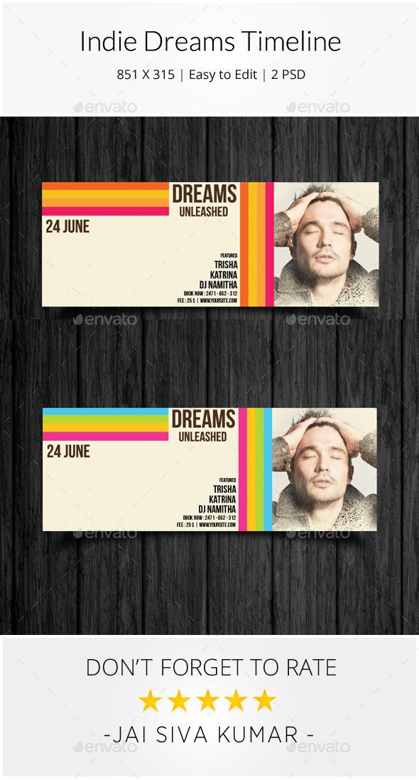 Indie Dreams Timeline - Facebook Timeline Covers Social Media
