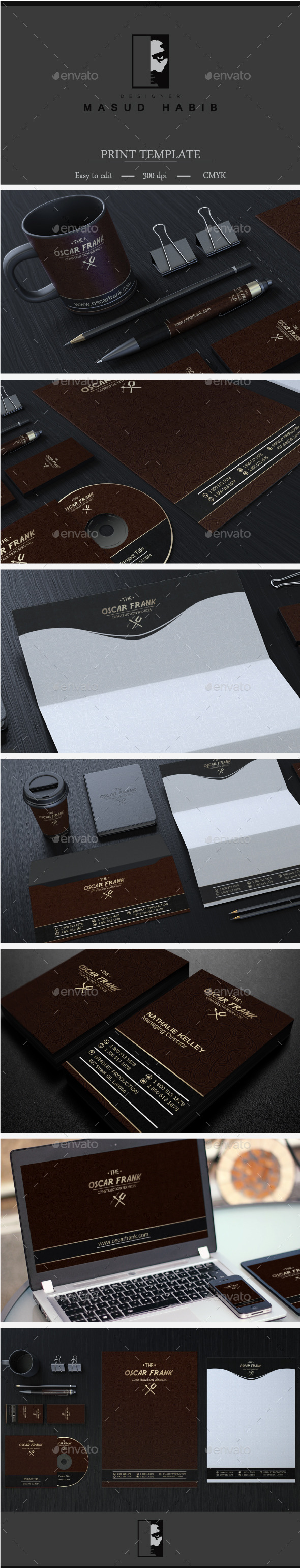 Creative Corporate Identity 25 - Stationery Print Templates