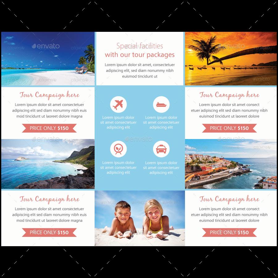 travel agency tri fold brochure by samiul75 graphicriver