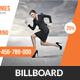 Corporate Business Billboard Banner Psd Template