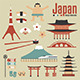 Japan Design Elements - GraphicRiver Item for Sale