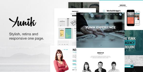 Yunik – Responsive Multipurpose Drupal 7 Theme