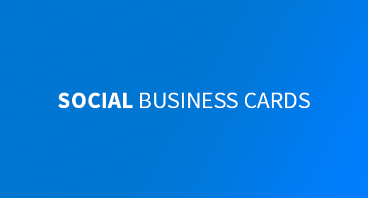 Social Business Card Collection
