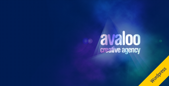 avaloo – One Page Creative Agency WP Theme