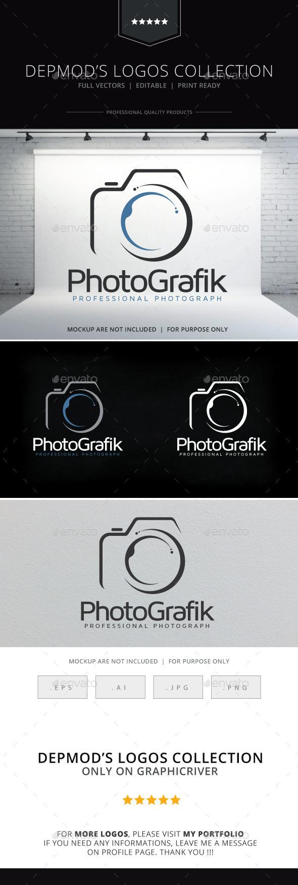 Photografik Logo - Objects Logo Templates