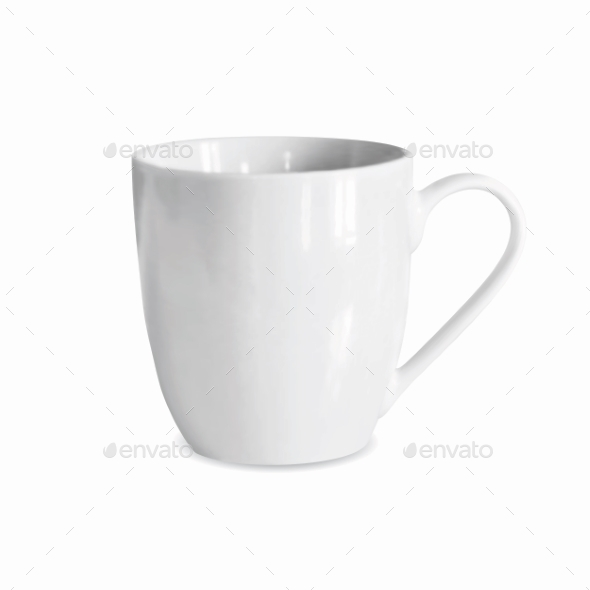 White Cup  - Objects Vectors