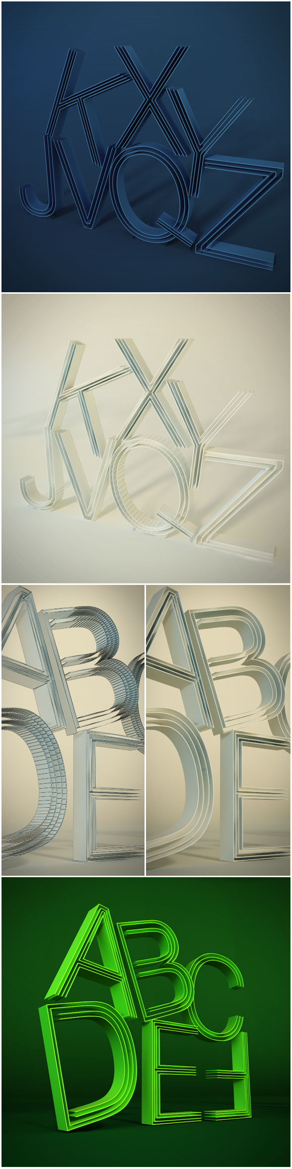 3d letters  - 3DOcean Item for Sale