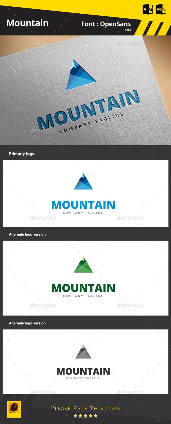 Mountain Logo Template - Symbols Logo Templates