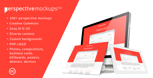 Perspective Mockups PHP Plugin - CodeCanyon Item for Sale