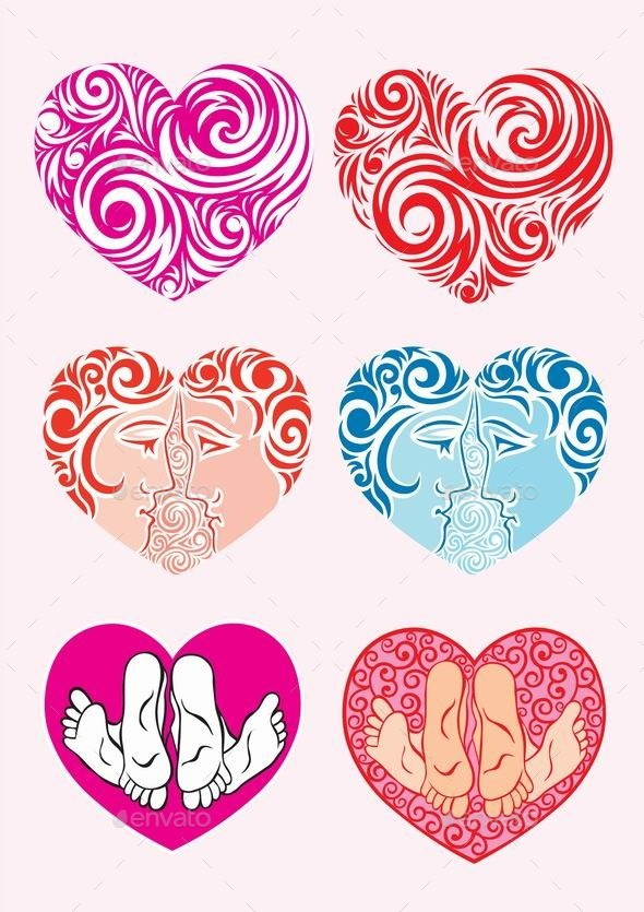 Heart Decoration - Decorative Symbols Decorative