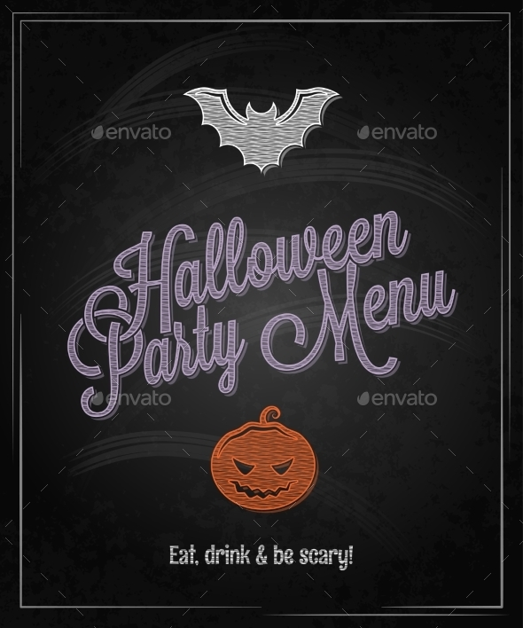 Halloween Party Menu - Halloween Seasons/Holidays