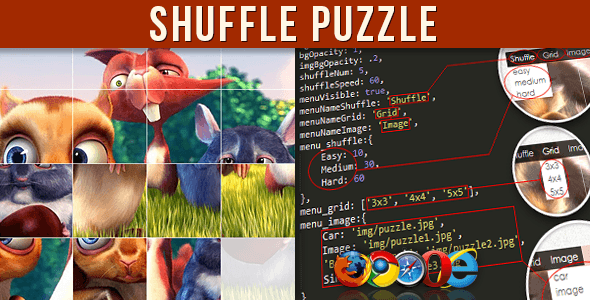 Shuffle Puzzle - CodeCanyon Item for Sale
