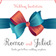 Ribbon Wedding Invitation  - GraphicRiver Item for Sale