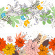 Three Seamless Borders with Flowers - GraphicRiver Item for Sale