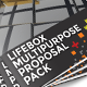 Lifebox Multipurpose Proposal Bundle Pack - GraphicRiver Item for Sale
