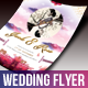 Wedding Flyer - Flowa - GraphicRiver Item for Sale
