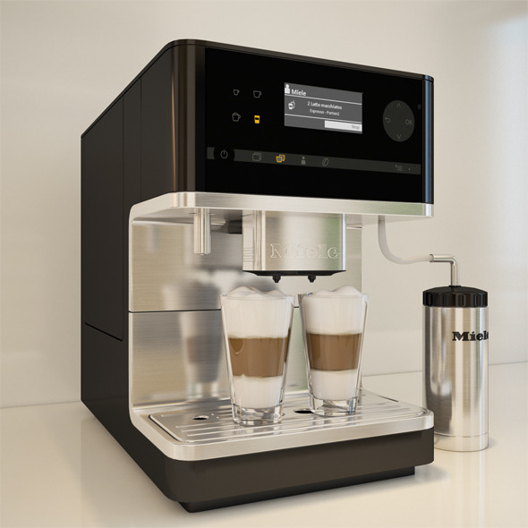 Miele CM6300 Coffee Machine - 3DOcean Item for Sale