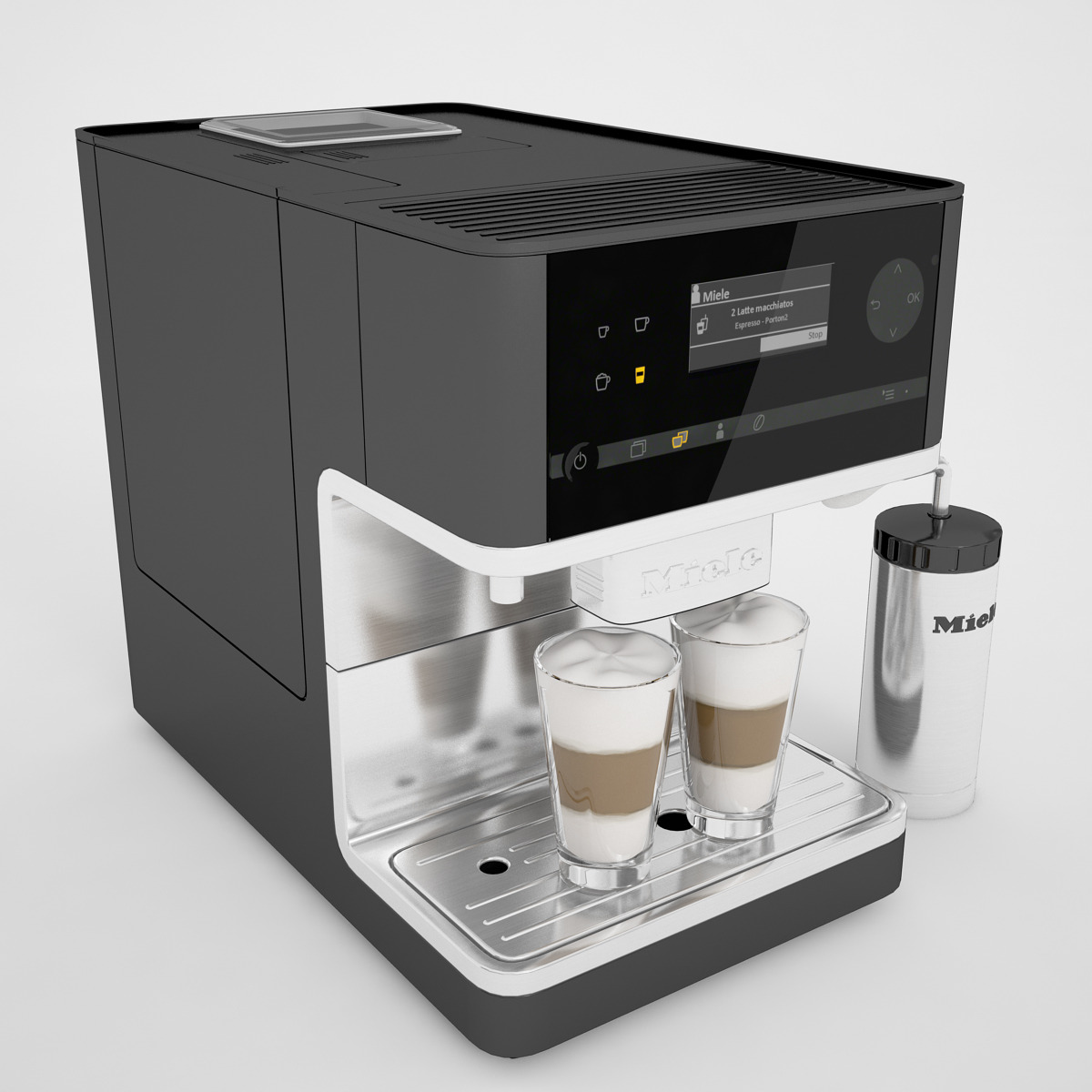 Miele Cm6300 Coffee Machine By Genkot29 3docean