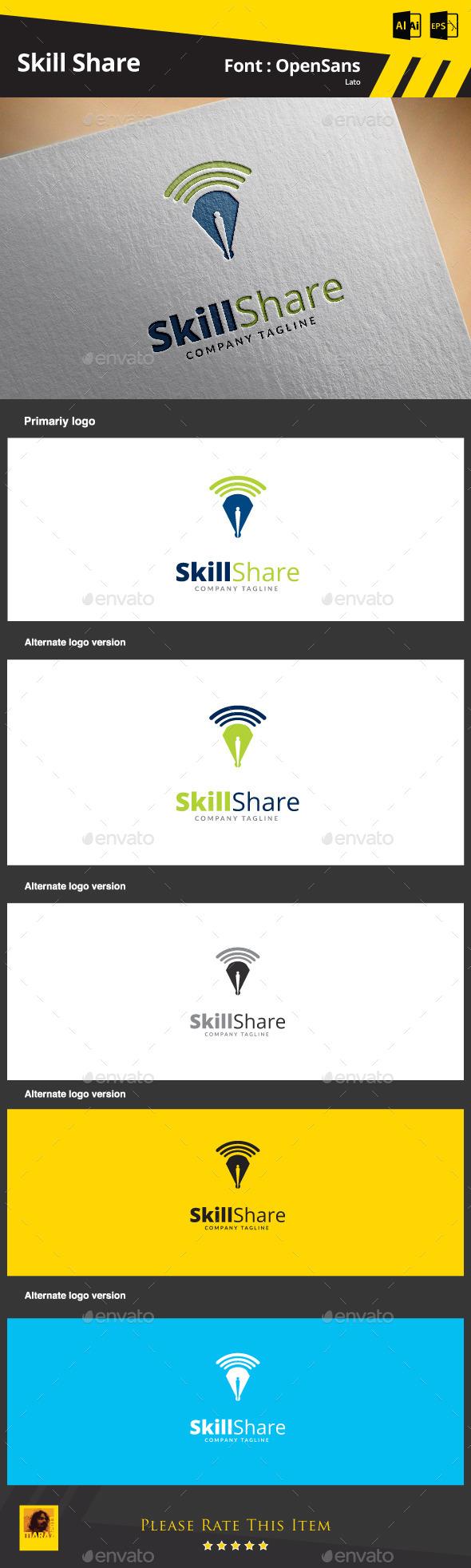 Skill Share - Symbols Logo Templates