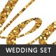 Glitter Wedding Set - GraphicRiver Item for Sale