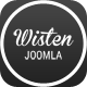 Wisten - One Page Parallax Joomla Template Nulled