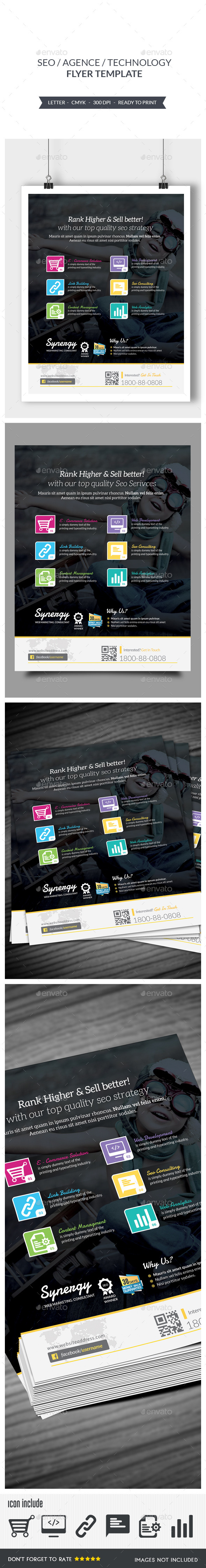 Seo Flyer - Corporate Flyers