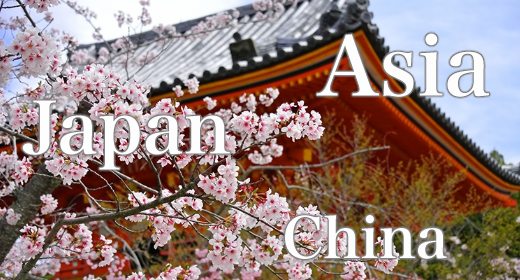 Asia - Japan - China