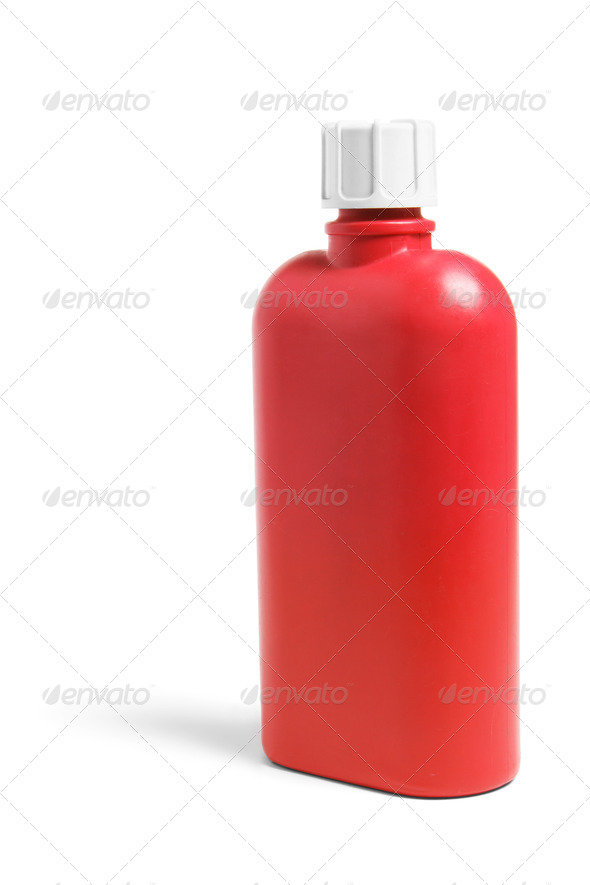 Plastic Drink Bottle - Stock Photo - Images