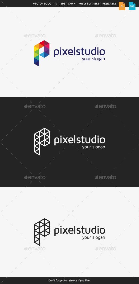 Pixel Studio Logo - Letters Logo Templates