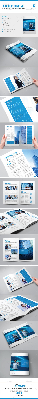 Business Brochure Template - Corporate Brochures