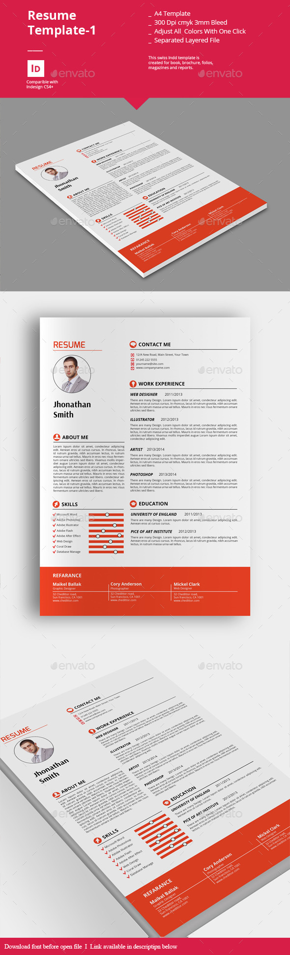 Resume Templates-1 - Resumes Stationery
