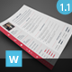 Clean CV - GraphicRiver Item for Sale