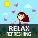 Relax, Refresh, Recharge! - GraphicRiver Item for Sale
