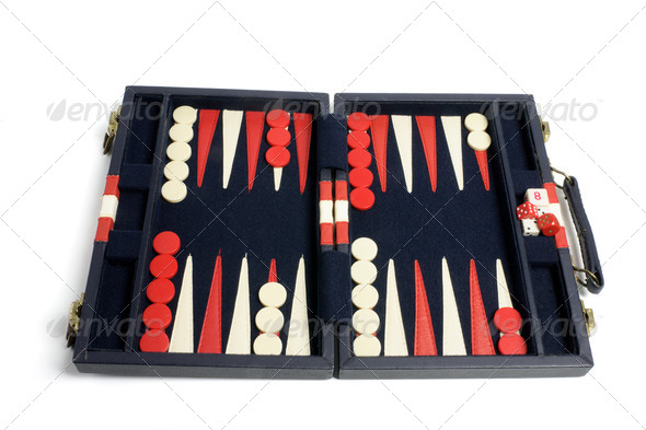 Backgammon Set - Stock Photo - Images