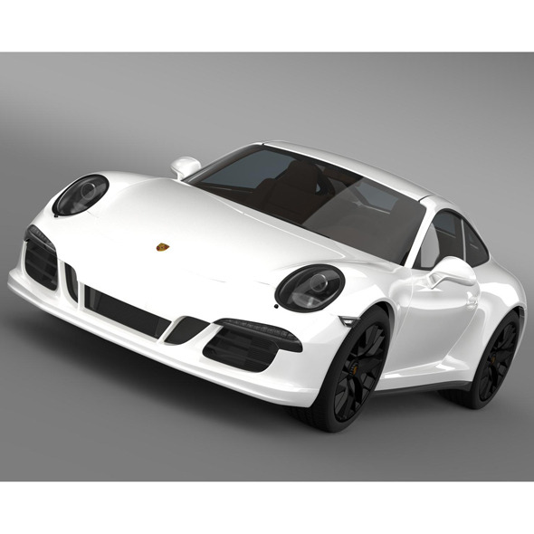 Porsche 911 Carrera GTS Coupe (991) 2015 - 3DOcean Item for Sale