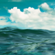 Realistic Ocean Logo - VideoHive Item for Sale