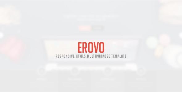 Erovo – Responsive Multipurpose HTML5 Template