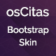osCitas Bootstrap Skin - CodeCanyon Item for Sale