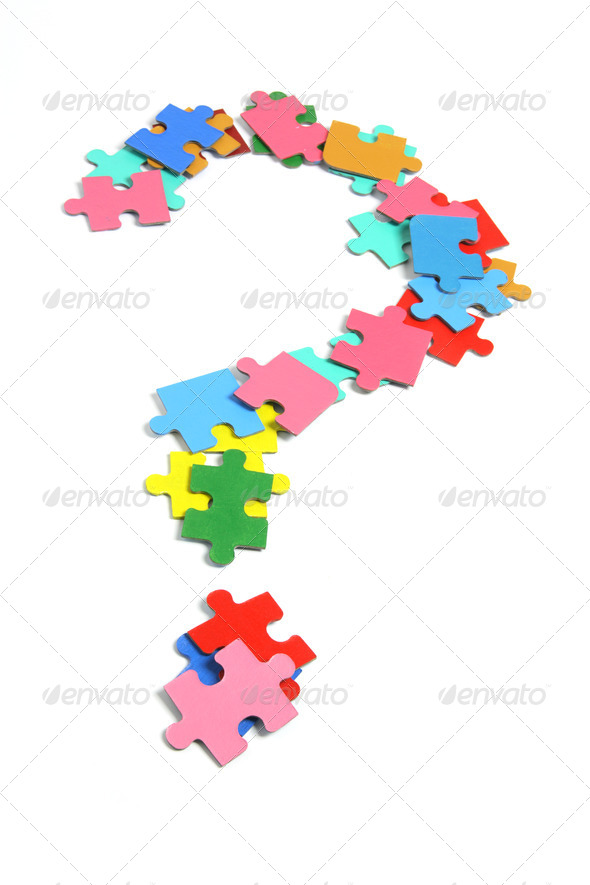 Jigsaw Puzzle Pieces - Stock Photo - Images