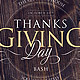 Thanks Giving Bash - GraphicRiver Item for Sale