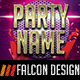Name Your Party Flyer - GraphicRiver Item for Sale