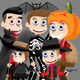 Happy Halloween - Cartoon Kids - GraphicRiver Item for Sale