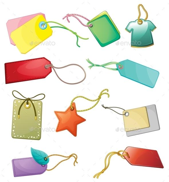 Tags - Decorative Symbols Decorative