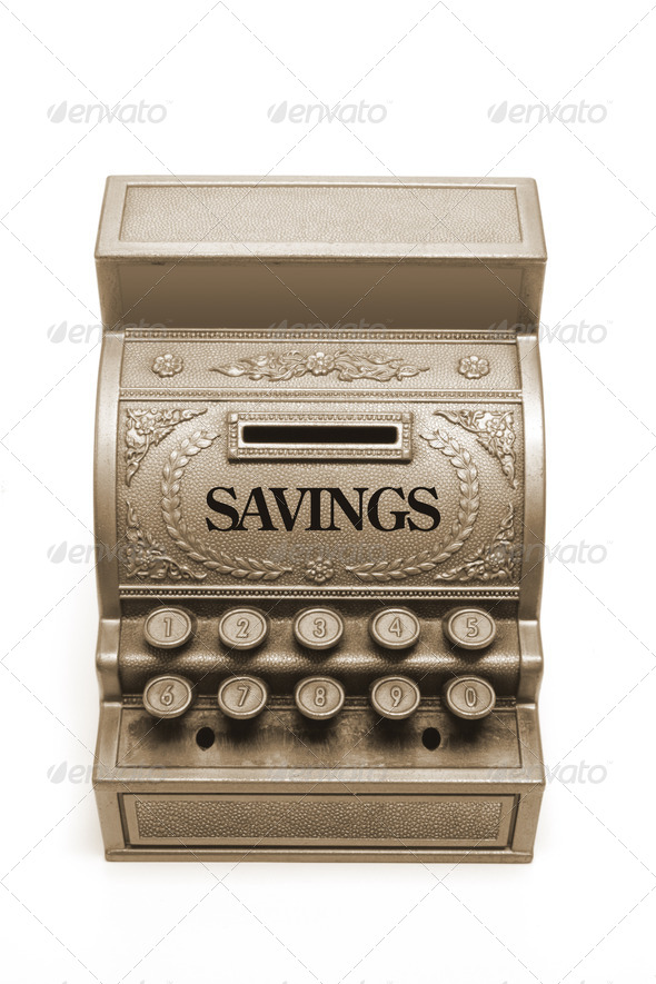 Money Box - Stock Photo - Images