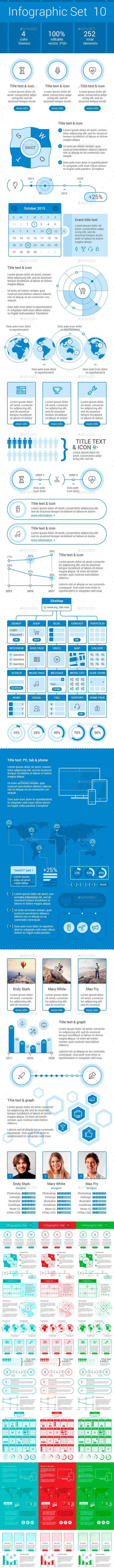 Infographic SET 10 - Infographics