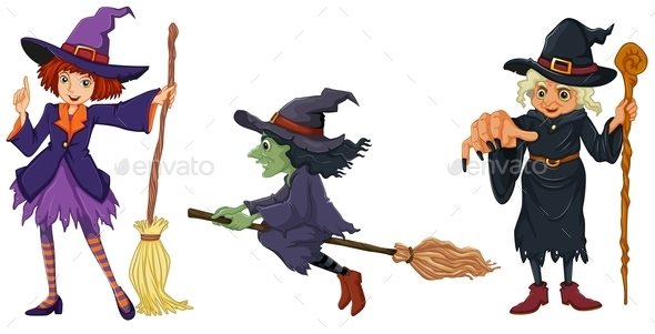 Three Witches - People Characters