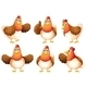 Six Fat Chickens - GraphicRiver Item for Sale