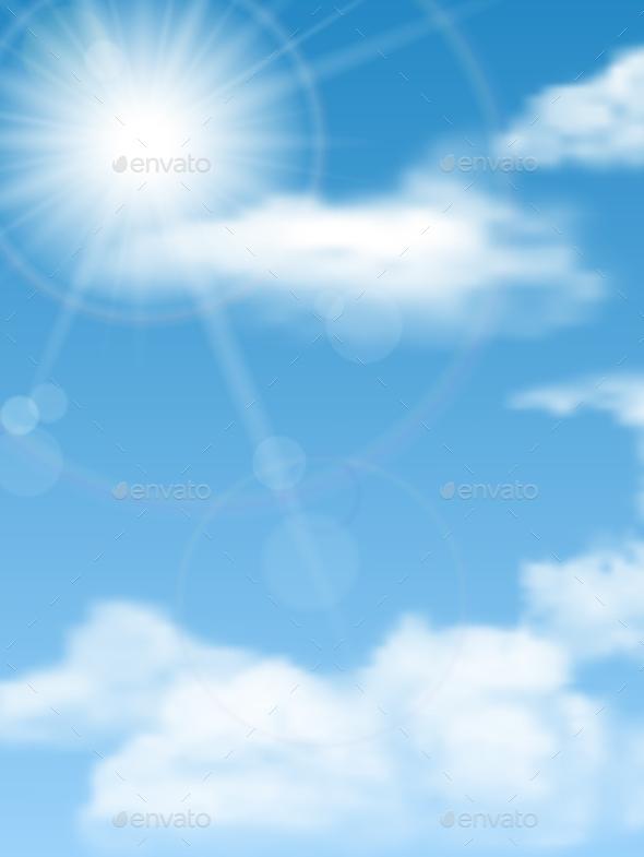 Cloudscape, Sun, Sky - Nature Conceptual