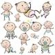 A Group of Babies - GraphicRiver Item for Sale